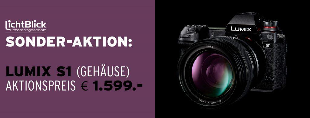 (Lichtblick-Sonder-Aktion: Lumix S1 (Gehäuse) – Aktionspreis € 1.599.-)