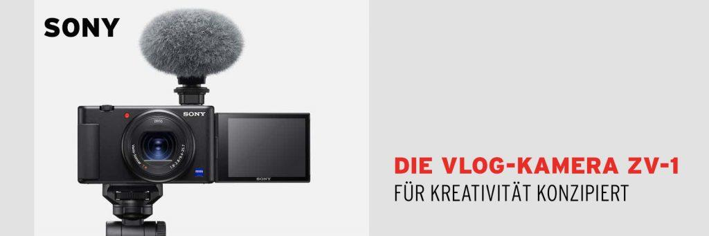 Die neue Sony Vlog-Kamera ZV-1: