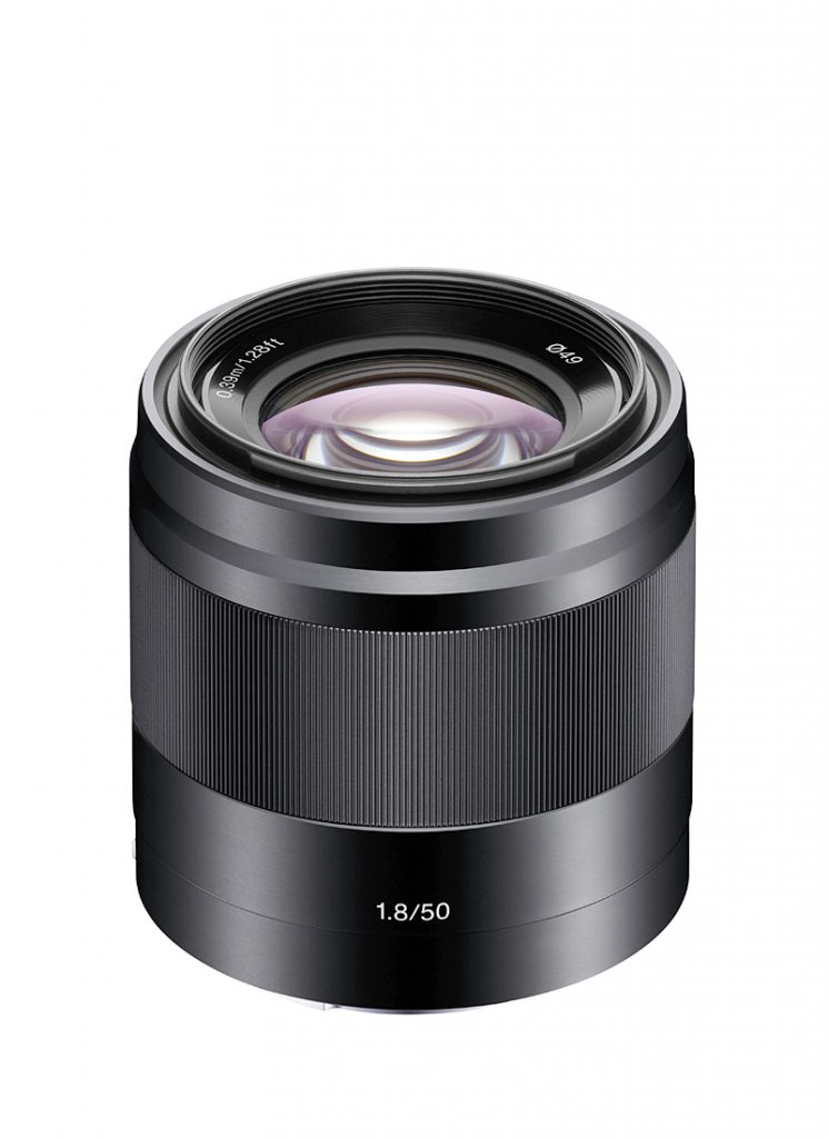 Sony E50 mm F1,8 OSS
