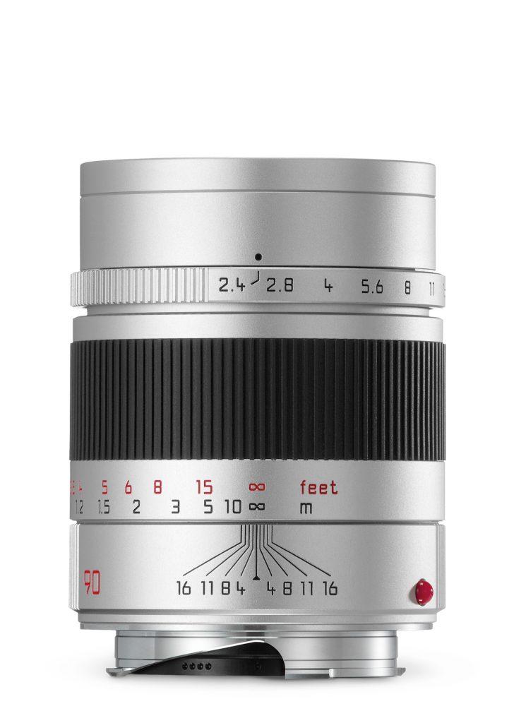 Leica Summarit-M 1:2,4/90mm / silber