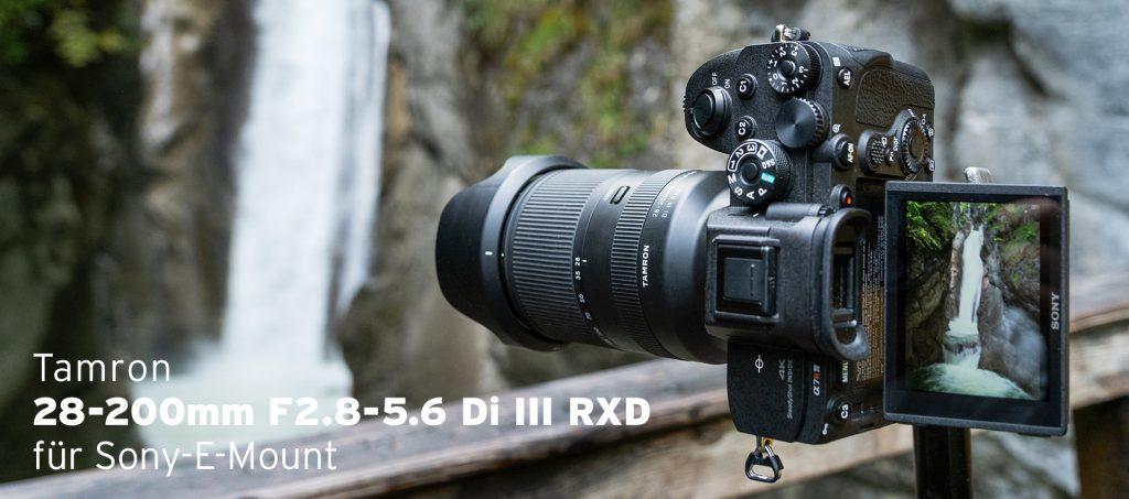 Tamron 28-200mm F2.8-5.6 Di III RXD für Sony-E-Mount