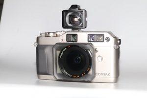 Contax G1 Zeiss Hologon 16mm/ f: 8.0