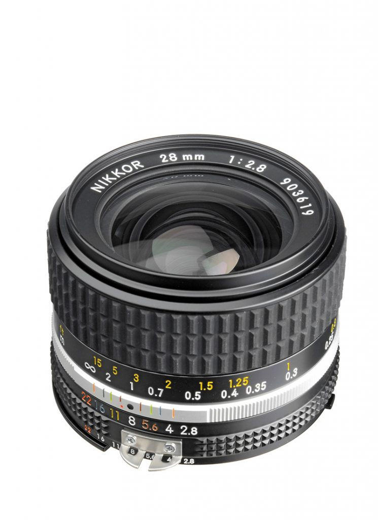 MF Nikkor 28 mm 1:2,8