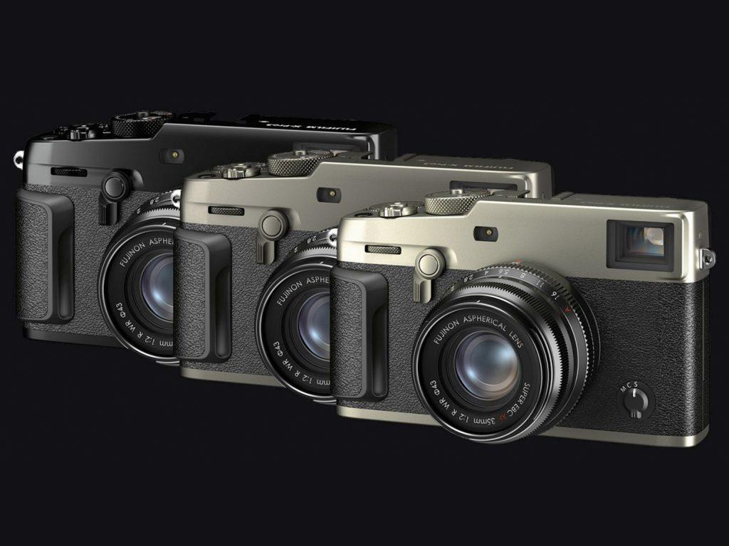 Fujifilm X-Pro3 in drei Farben