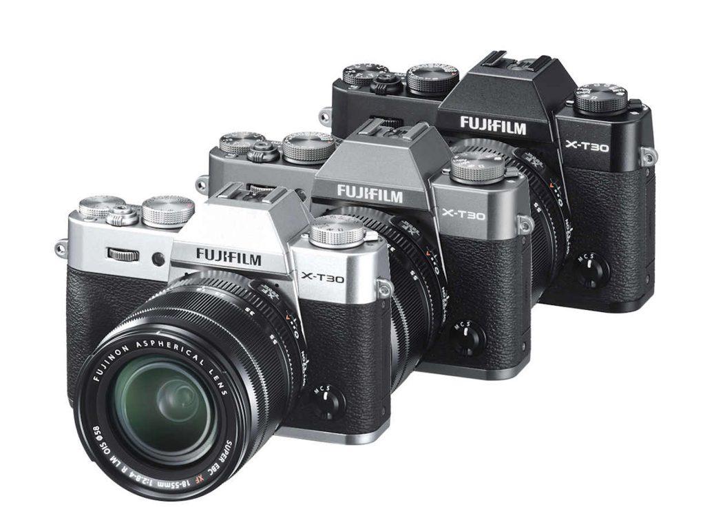 FUJIFILM X-T30 schwarz/silber/anthrazit