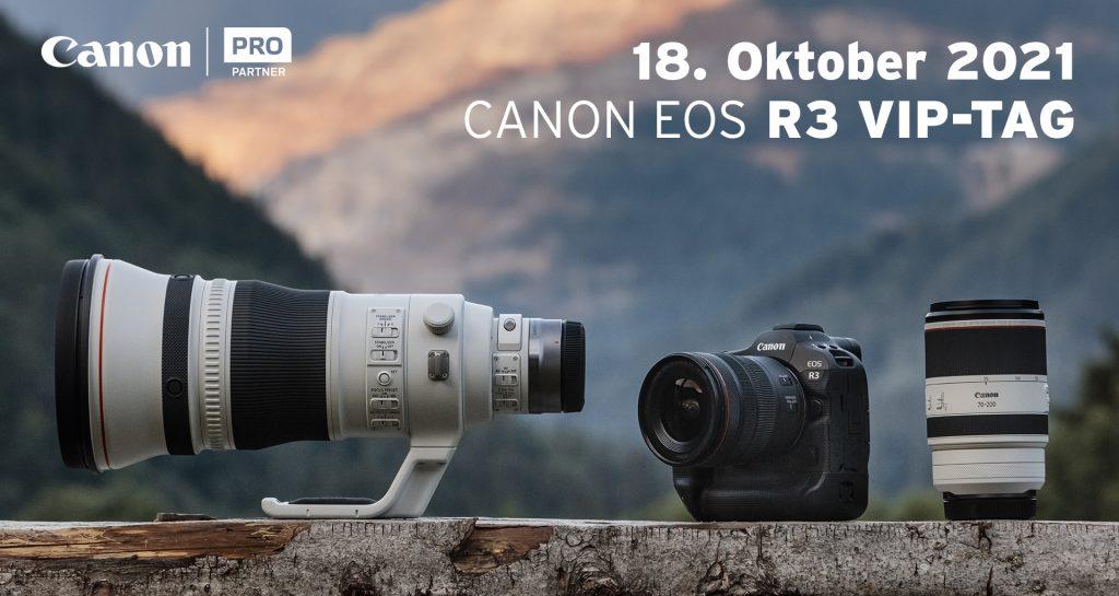 18.10.2021 | Canon EOS R3 VIP-Tag