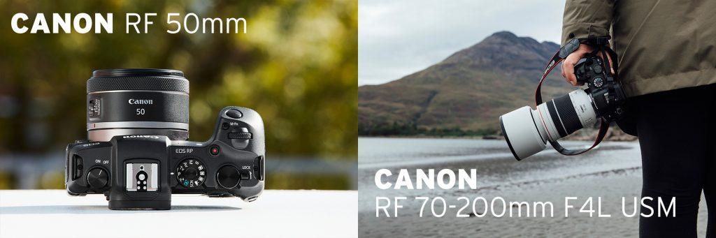 (Canon RF 50mm F1.8 STM und Canon RF 70-200mm F4L USM ab Anfang Dezember am Lager vorrätig!)
