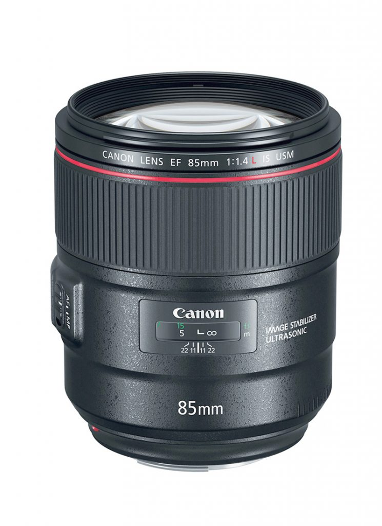 Canon EF 85mm f/1.4 IS L USM
