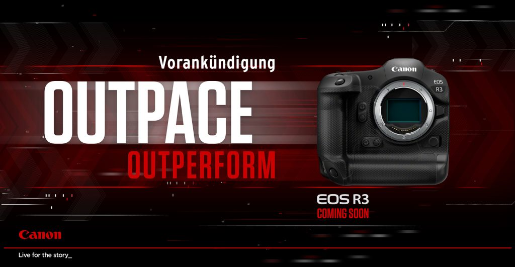 Canon Ankuendigung EOS R3