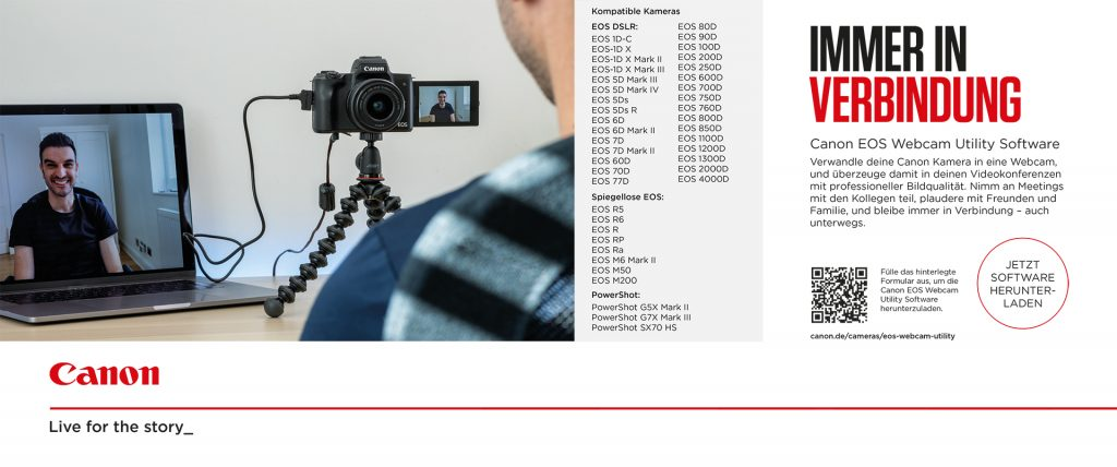 Canon EOS Webcam Utility Software