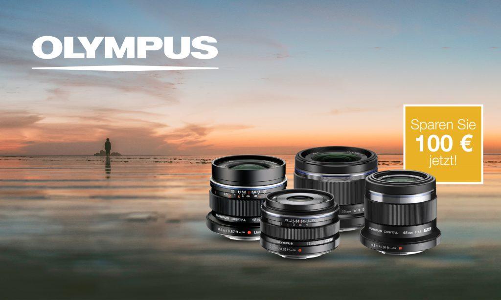 Olympus Prime-Objektive Sofortrabatt vom 18. bis 28. Juni 2021