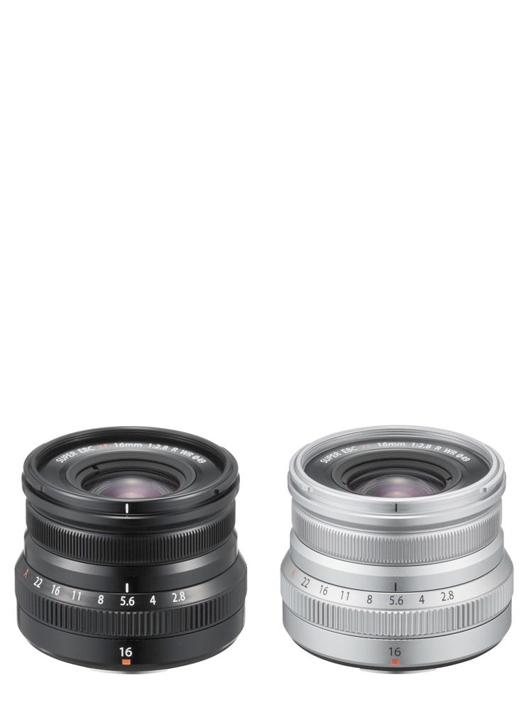 FUJIFILM XF16mm F2.8 R WR silber/schwarz