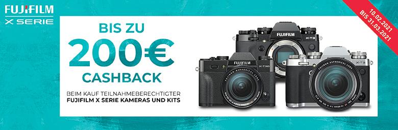 Fuji EURO 200,– Cashback-Aktion