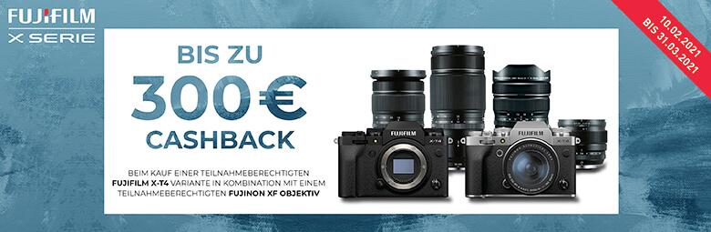 Fuji EURO 300,– Cashback-Aktion