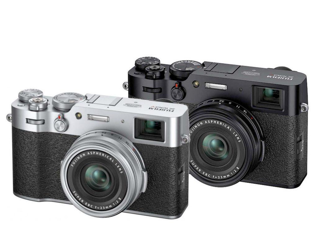 Fujifilm X100V schwarz/silber