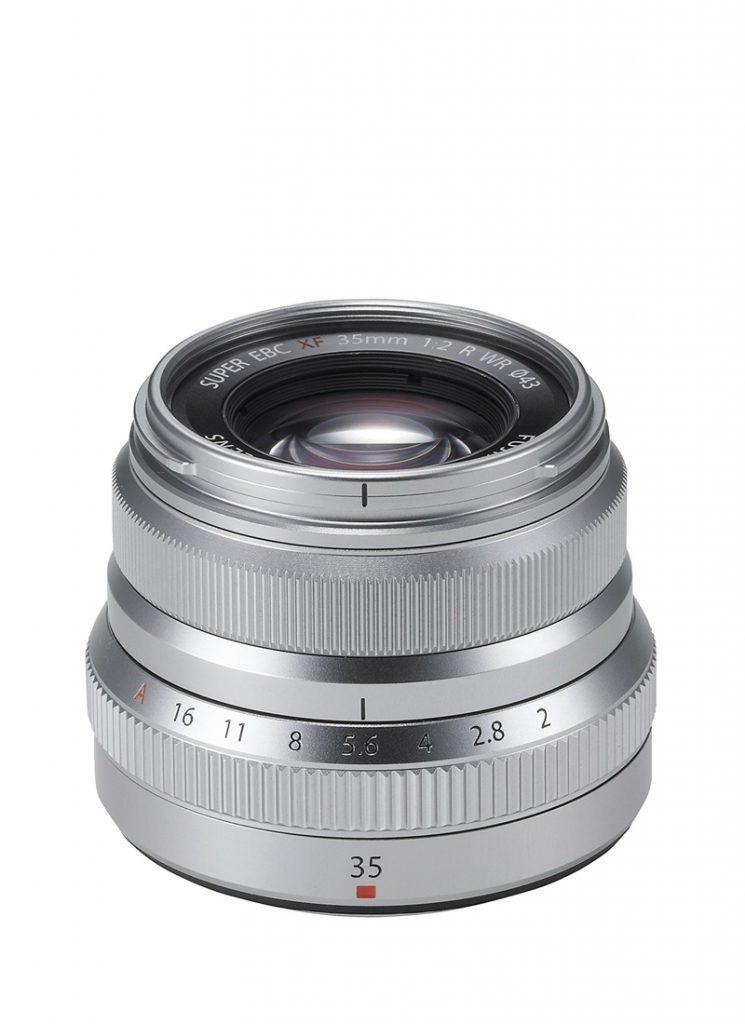 Fujinon XF 35mm f/2 R WR Silber