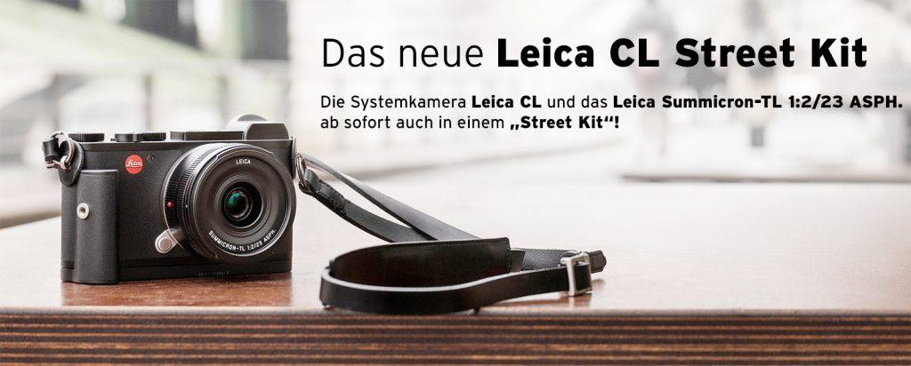 Das neue Leica CL Street Kit -