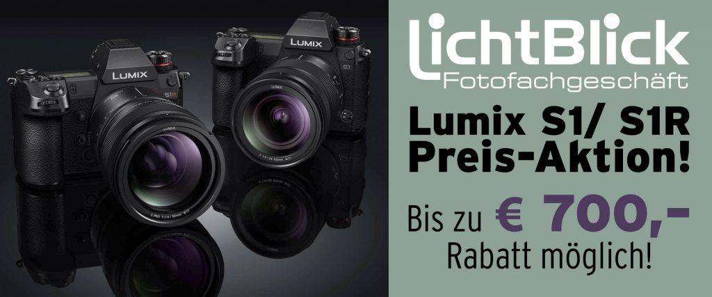 Lichtblick Konstanz - Lumix S1 / S1R Preis-Aktion! Bis zu EURO 700,– Rabatt möglich!