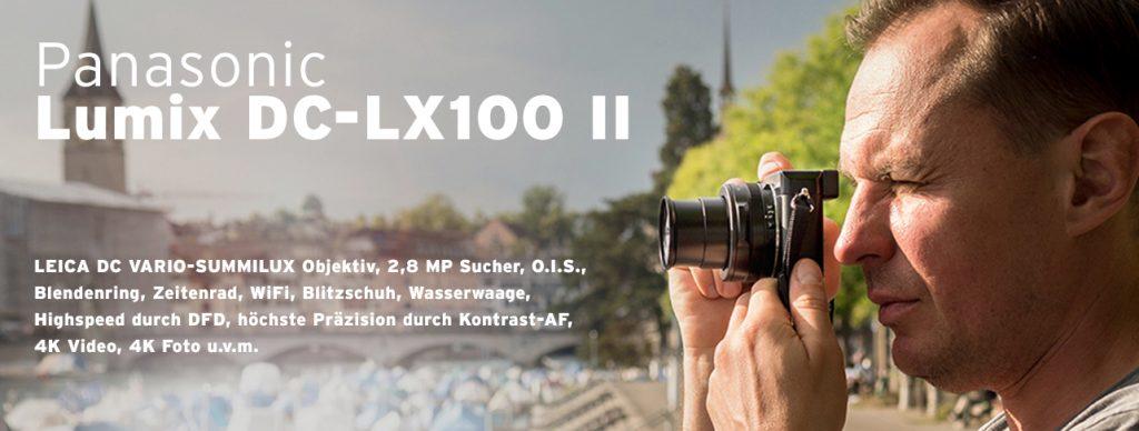 Panasonic LUMIX Digitalkamera DC-LX100 II
