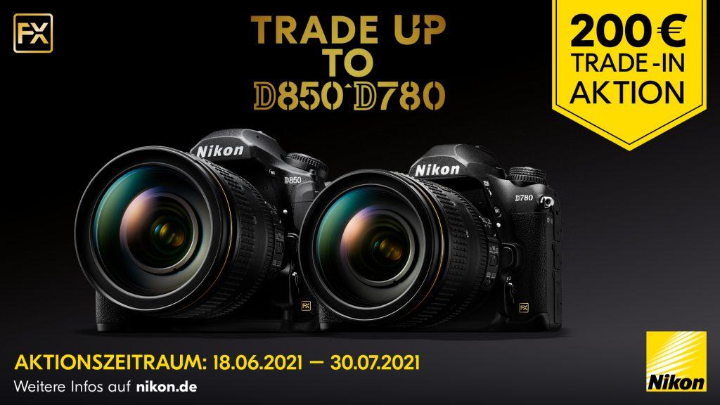 Nikon D850 und D780 Trade-In-Aktion 2021!