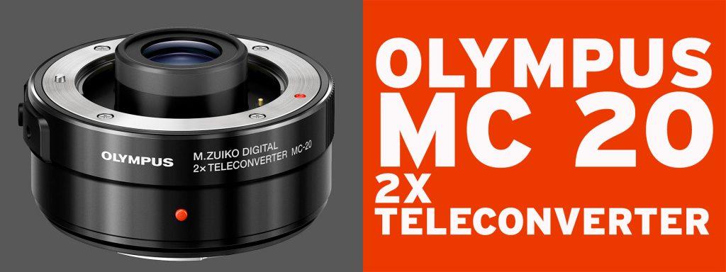 Olympus MC 20 2x Teleconverter