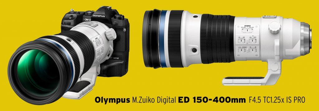 (Das neue Olympus M.Zuiko Digital ED 150-400mm F4.5 TC1.25x IS PRO Lieferbar ab Januar 2021)