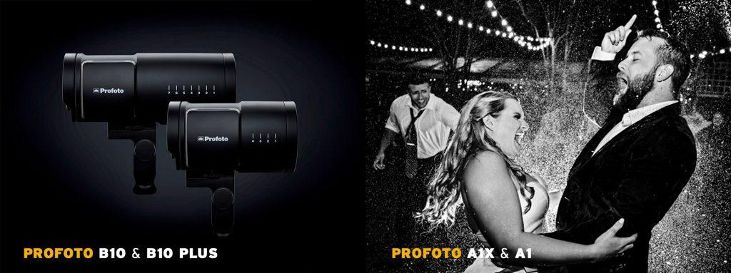 (Profoto B10 & B10 Plus – Profoto A1X & A1)