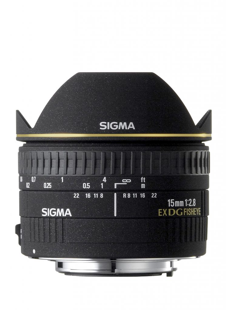 15mm F2,8 EX DC Diagonal-Fisheye HSM