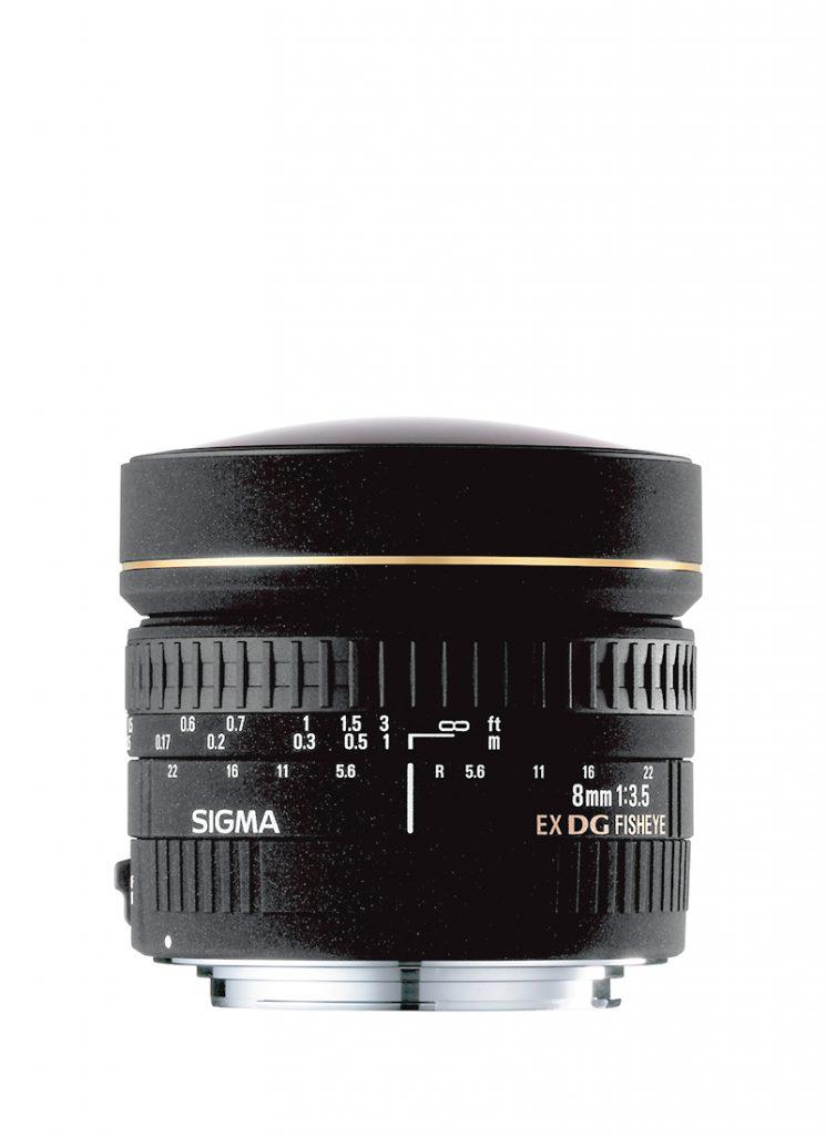 8mm F3,5 EX DG Zirkular-Fisheye