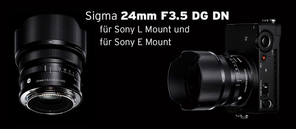 Sigma Contemporary 24mm F3.5 DG DN für Sony L-Mount & E-Mount