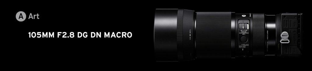 Sigma 105mm F2,8 DG DN MACRO | ART