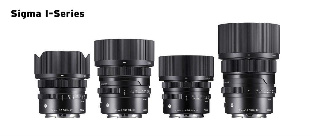 24mm F3,5 DG DN | Contemporary – 35mm F2 DG DN | Contemporary – 45mm F2,8 DG DN | Contemporary – 65mm F2 DG DN | Contemporary