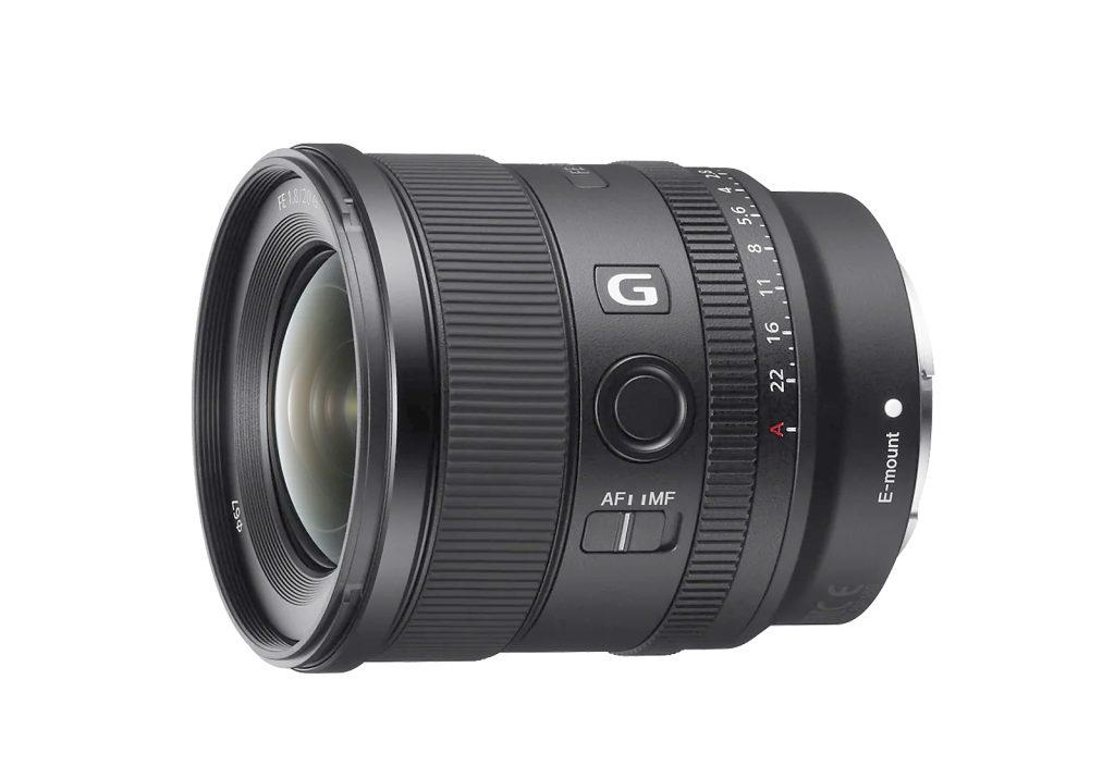 Sony FE 20 mm F1.8 G