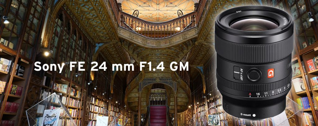 Sony FE 24 mm F1.4 GM