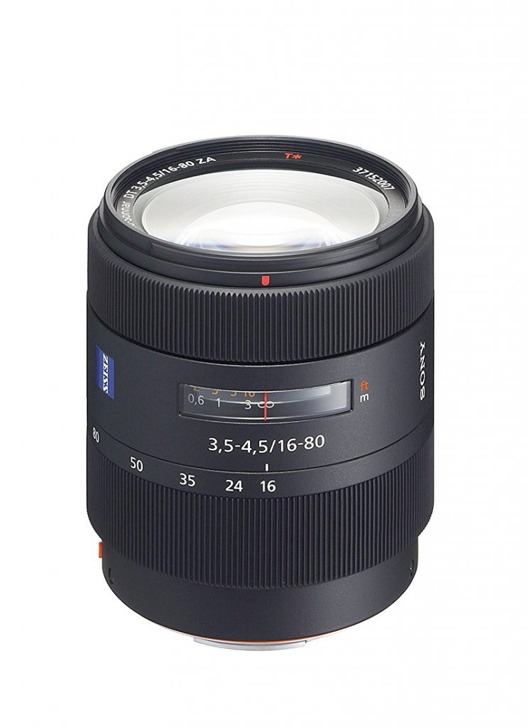 Sony Vario-Sonnar T* DT 16-80 mm F3,5-4,5 ZA