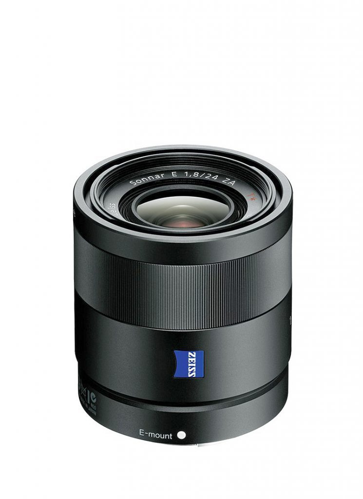 Sony ZEISS Sonnar T* E 24 mm F1,8 ZA