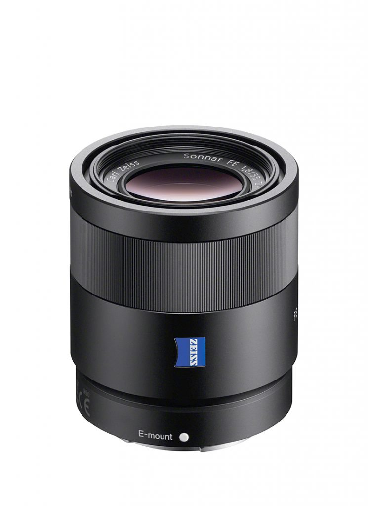 Sony ZEISS Sonnar T* FE 55 mm F1,8 ZA
