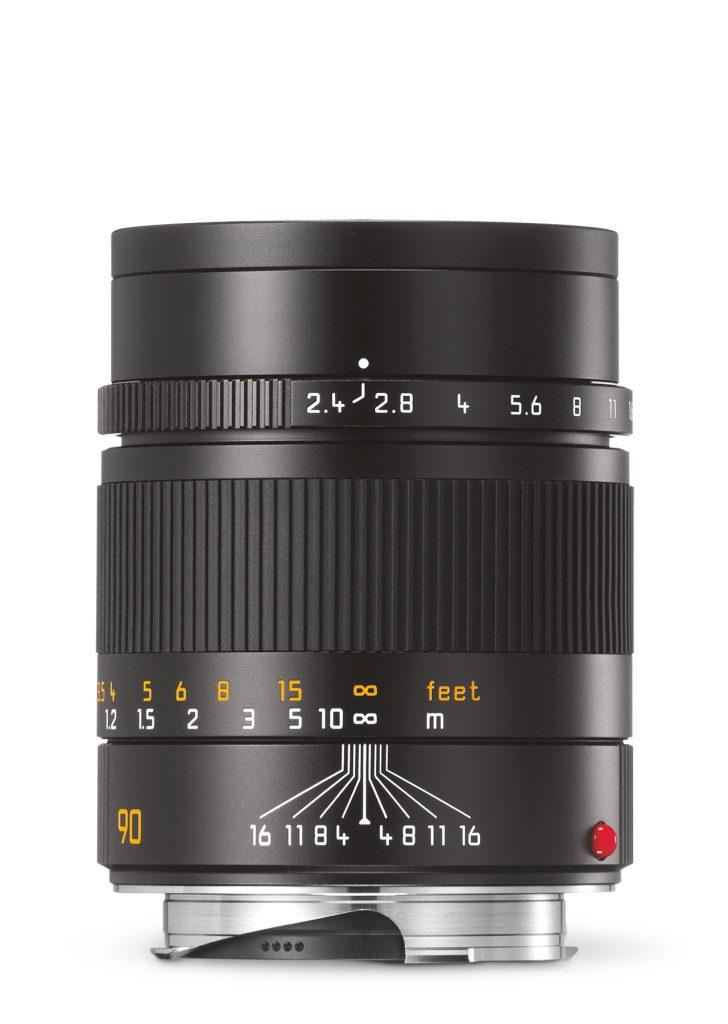 Leica Summarit-M 1:2,4/90mm / schwarz