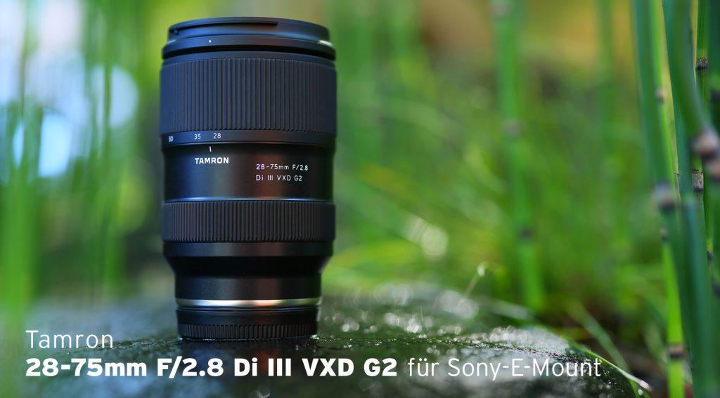 TAMRON 28-75mm F/2.8 Di III VXD G2 für Sony E-Mount