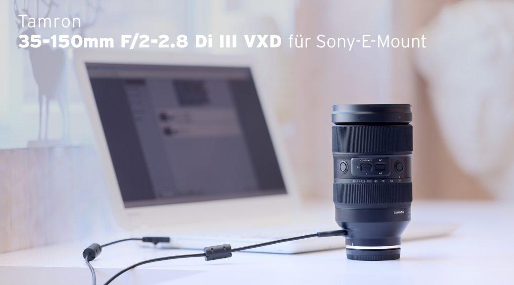 TAMRON 35-150mm F/2.2.8 Di III VXD für Sony E-Mount