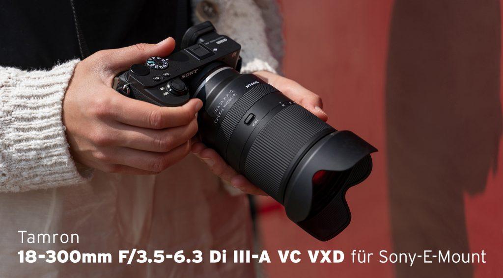 Tamron 18-300mm F/3.5-6.3 Di III-A VC VXD Sony E-Mount