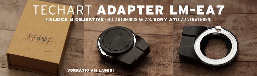 (TECHART Adapter LM-EA7 für Leica-Objektive)