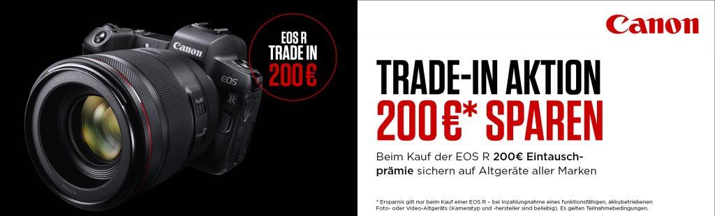 Mit der Canon Trade-In Aktion EUR 200,– sparen!