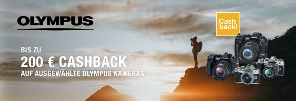 Olympus Sommer Aktion 2021 mit bis zu EURO 200,– Cashback!