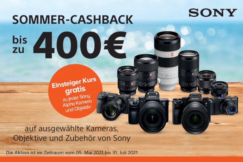 Sony Sommer-Cashback 2021
